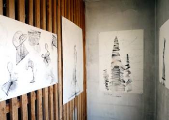 Rachel Brodiak, Fadenzeichnungen  Status: Ausstellung läuft / on showRaum Matador, Ebene 5