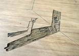 Richard Géczi; Linolschnitt  Status: Ausstellung läuft / on showRaum Strich 8 & Mustang, Ebene 3