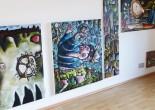 Samuel F. Sieber; Bilder 2010-2013  Status: Ausstellung läuft / on showRaum Dauphine, Ebene 2